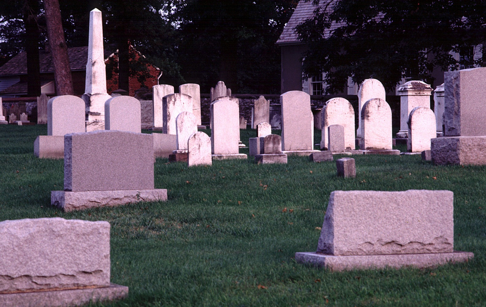 Graceland Cemetery In Mitchell Vandalized