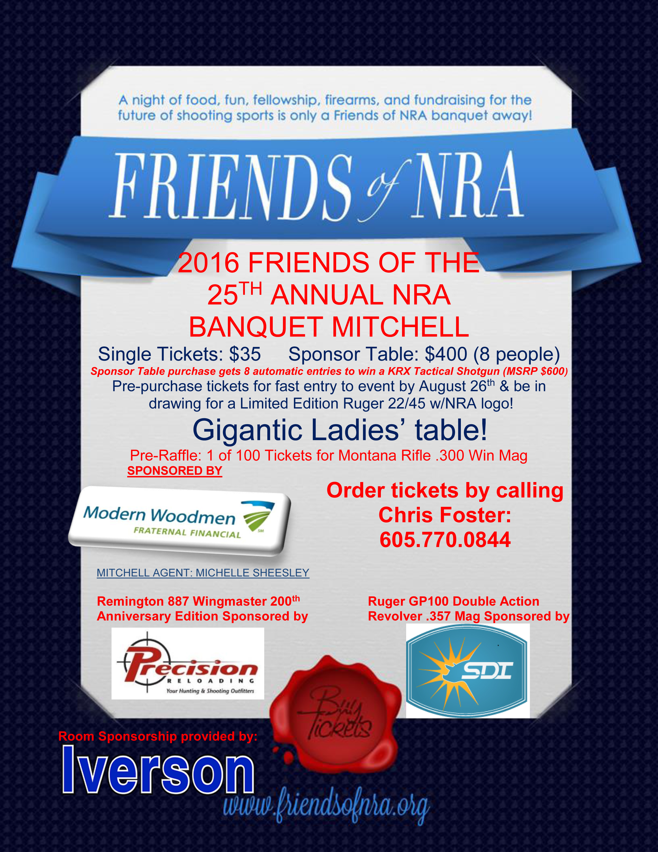 friends of the nra mitchell banquet fm fnra 2016 event flyer template mitchell 2016 rev d
